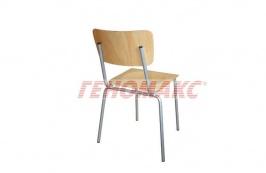29 лв. ученически стол цвят бук
