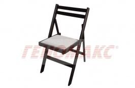 32 лв. сгъваем стол с тапицирана седалка