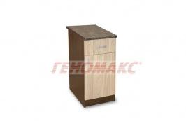 75 лв. шкаф с чекмедже и термоплот - 40 см.